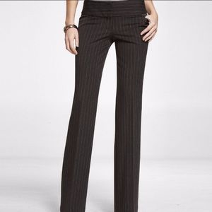 Express editor pant 2R gently worn pin stripe